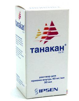 Танакан, 40 мг/мл, раствор для приема внутрь, 30 мл, 1 шт.
