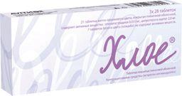 Хлое, 2 мг+35 мкг, таблетки, покрытые пленочной оболочкой, 84 шт.