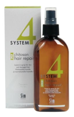 System 4 Терапевтический спрей R для слабых и поврежденных волос, спрей, 200 мл, 1 шт.
