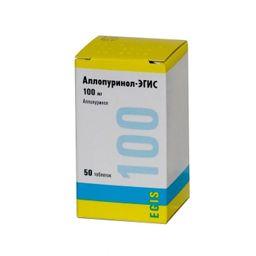 Аллопуринол-Эгис, 100 мг, таблетки, 50 шт.