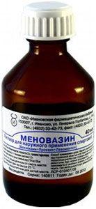 Меновазин, раствор для наружного применения спиртовой, 40 мл, 1 шт.
