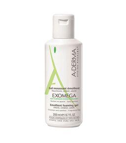 A-Derma Exomega гель смягчающий пенящийся, гель для умывания, 200 мл, 1 шт.