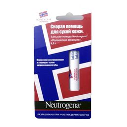 Neutrogena Норвежская формула Бальзам-помада, помада, без отдушки, 4,8 г, 1 шт.