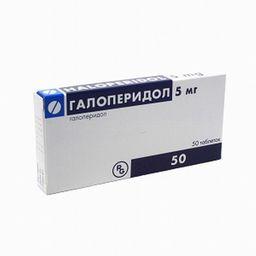 Галоперидол-Рихтер, 5 мг, таблетки, 50 шт.