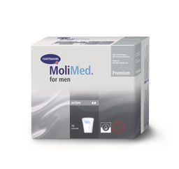 Molimed Premium Вкладыши урологические для мужчин Актив, 2 капли, 14 шт.