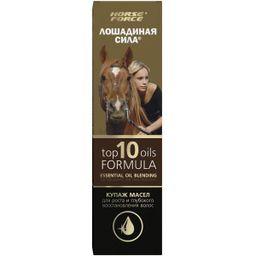 Лошадиная Сила Купаж масел для роста и восстановления волос, масло для наружного применения, 100 мл, 1 шт.