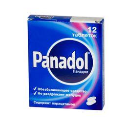Панадол, 500 мг, таблетки, покрытые пленочной оболочкой, 12 шт.
