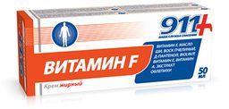 911 крем Витамин F жирный, крем, 50 мл, 1 шт.
