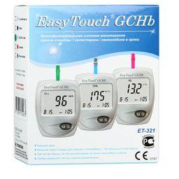 EasyTouch GCHB ET-321 анализатор крови Глюкоза Холестерин Гемоглобин, 1 шт.