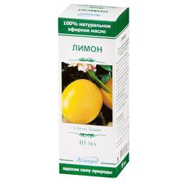 Масло эфирное Лимон, масло эфирное, 10 мл, 1 шт.