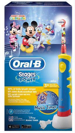 Электрическая зубная щетка для детей Oral-B Stages Power, в ассортименте, 1 шт.