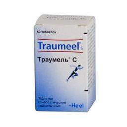 Траумель С, таблетки для рассасывания гомеопатические, 50 шт.