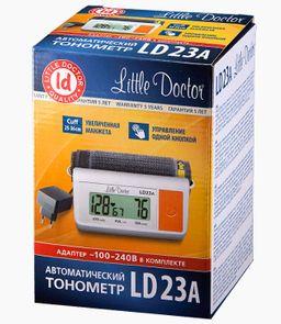 Тонометр автоматический Little Doctor LD23A, с адаптером и стандартной манжетой (22-32 см), 1 шт.