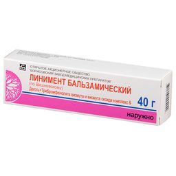 Линимент бальзамический (по Вишневскому), линимент, 40 г, 1 шт.