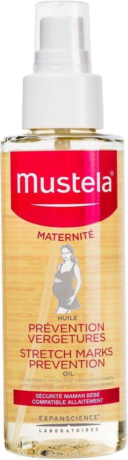 Mustela Maternite Масло для профилактики растяжек, масло косметическое, 105 мл, 1 шт.