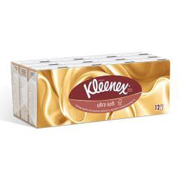 Kleenex платки носовые бумажные Ультрасофт, 7х12, 84 шт.