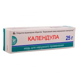 Календула, мазь для наружного применения, 25 г, 1 шт.