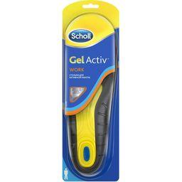 Scholl GelActiv стельки для активной работы мужские, мужские, 2 шт.
