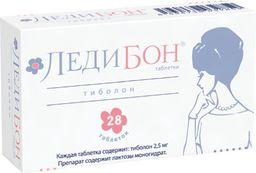 Ледибон, 2.5 мг, таблетки, 28 шт.