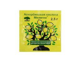 Аскорбиновая кислота Мелиген, 2.5 г, порошок для приготовления раствора для приема внутрь, 2,5 г, 1 шт.
