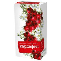 Фиточай Алтай №27 Кардефит, фиточай, 2 г, 20 шт.