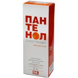 Пантенол Фармстандарт, 5%, аэрозоль для наружного применения, 58 г, 1 шт.
