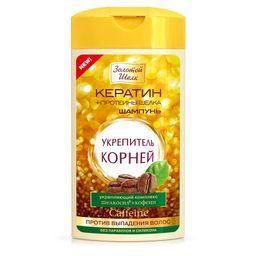 Золотой шелк Шампунь-укрепитель корней Против выпадения, шампунь, 250 мл, 1 шт.