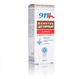 911 шампунь Дегтярный, шампунь, 150 мл, 1 шт.