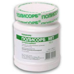Полисорб МП, порошок для приготовления суспензии для приема внутрь, 12 г, 1 шт.