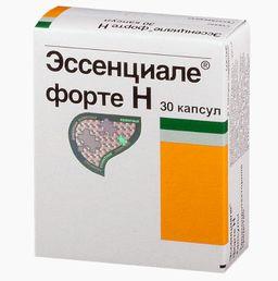 Эссенциале форте Н, 300 мг, капсулы, 30 шт.