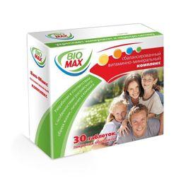 Био-Макс, таблетки, покрытые оболочкой, 30 шт.