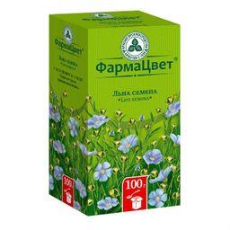 Льна семена, лекарственное растительное сырье, 100 г, 1 шт.