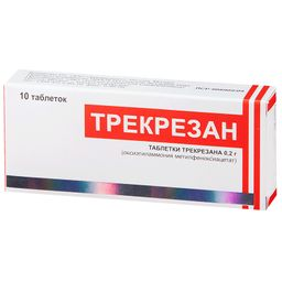 Трекрезан, 200 мг, таблетки, 10 шт.