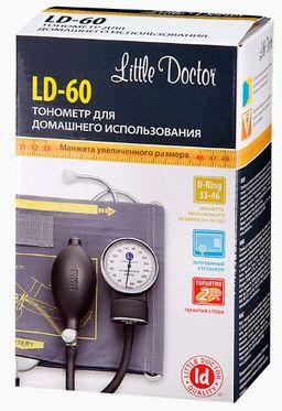 Тонометр механический Little Doctor LD-60, манжета 33-46 см, 1 шт.