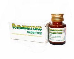 Гельминтокс, 125 мг/2.5 мл, суспензия для приема внутрь, 15 мл, 1 шт.
