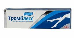 Тромблесс, 1000 ЕД/г, гель для наружного применения, 30 г, 1 шт.