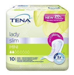 Прокладки урологические Tena Lady Slim Mini, прокладки гигиенические, 10 шт.