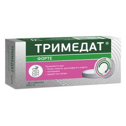 Тримедат форте, 300 мг, таблетки с модифицированным высвобождением, 20 шт.